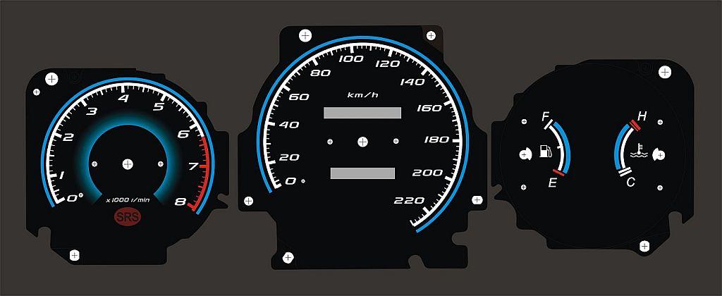 Honda Cr VТюнинг автомобильных панелей приборов Тюнинг